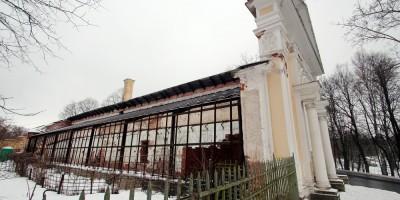 Павловск, дворцовое садоводство, оранжерея № 1