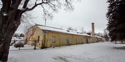 Павловск, дворцовое садоводство, оранжерея № 5