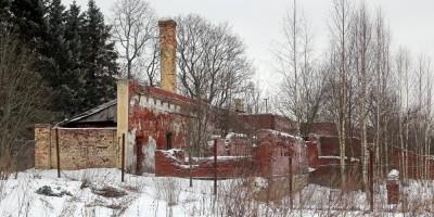 Павловск, дворцовое садоводство, оранжерея № 5, вид сзади