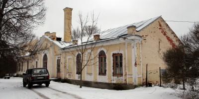 Павловск, дворцовое садоводство, вид сбоку