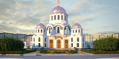 Проект храма в Славянке