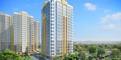 Проект жилого дома Green Tower на Среднерогатской улице
