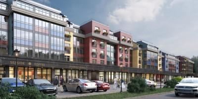 Проект жилого комплекса на Пулковском шоссе