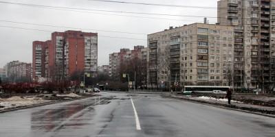 Проспект Ударников, новый участок