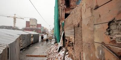 Пионерская улица, 36, снос, после обрушения