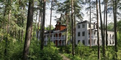 Сестрорецкий курорт, лесной пансионат