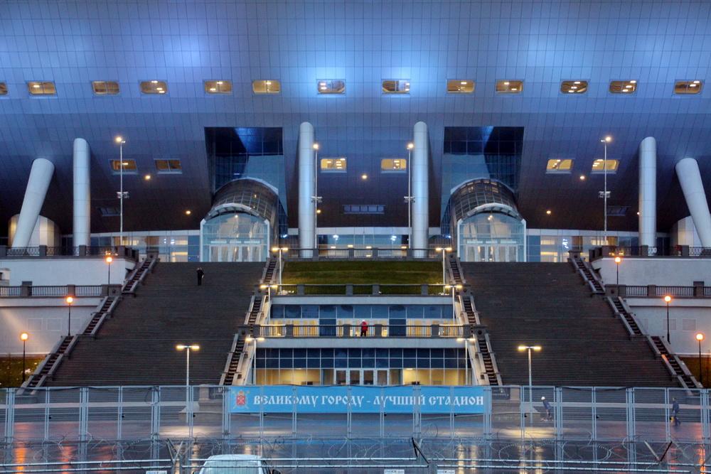 Стадион на Крестовском острове, лестница