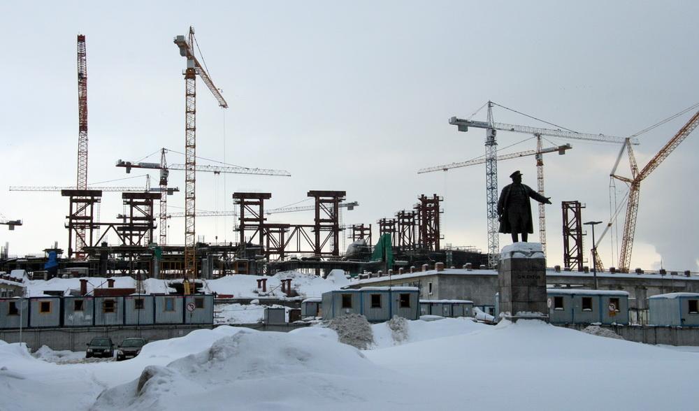 Стадион на Крестовском острове, строительство