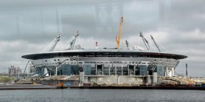 Стадион на Крестовском с воды