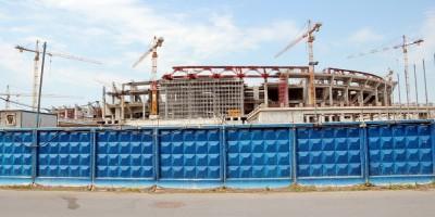 Стадион на Крестовском, строительство