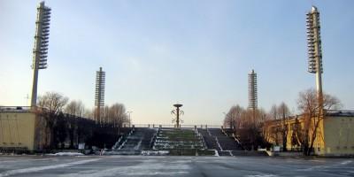 Стадион имени Кирова, лестница