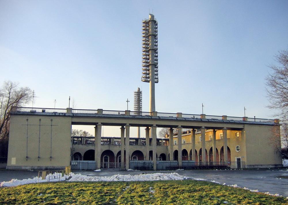 Стадион имени Кирова, павильон
