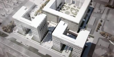 Улица Типанова, проект жилого дома сверху