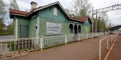 Вокзал на станции Дибуны