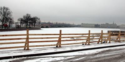Иоанновский мост, без решеток