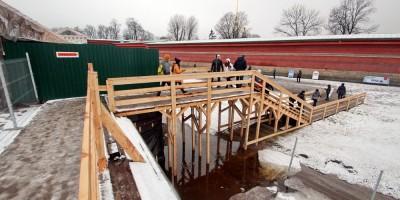 Иоанновский мост, ремонт, спуск