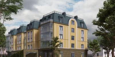 Проект жилого дома на улице Савушкина, 43