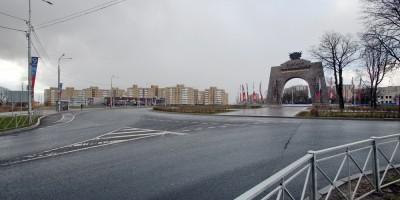 Красное Село, площадь Воинской Славы