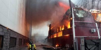 Пожар на Литовской улице