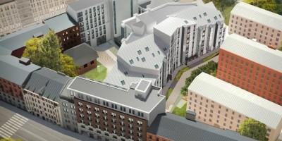 Проект комплекса на Большой Зелениной улице, 24