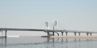 Проект моста у Серного острова