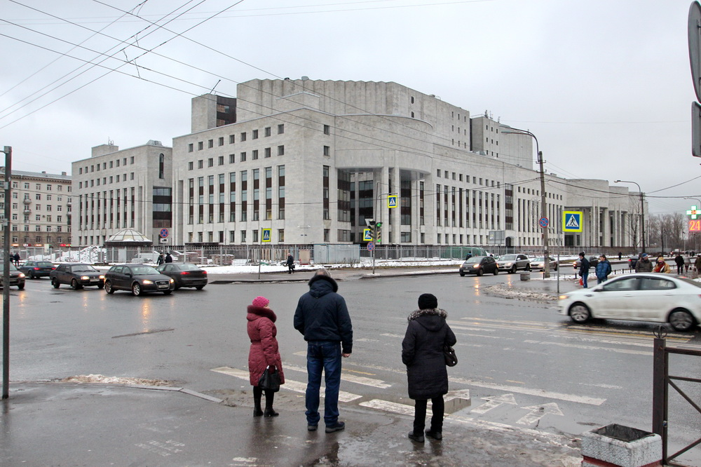 Российская национальная библиотека, Варшавская улица