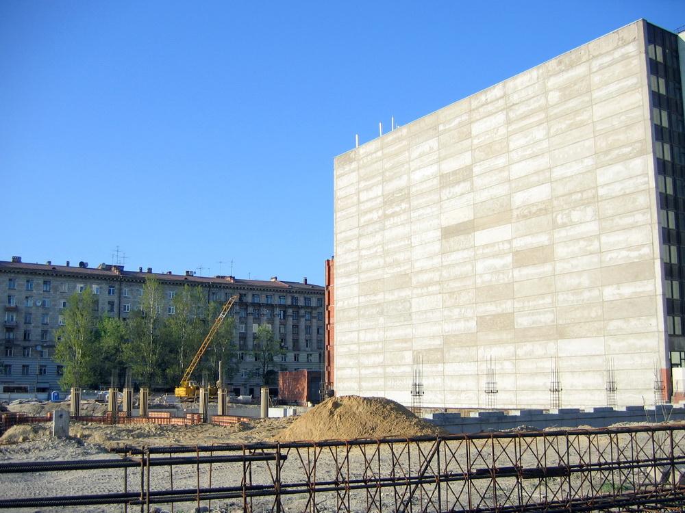 Варшавская улица, место под РНБ