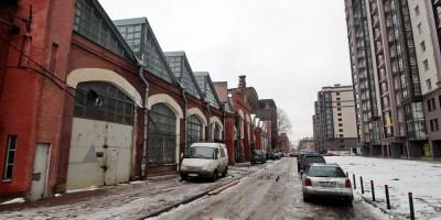 Заставская улица, малярная мастерская