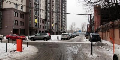 Заставская улица, новый участок