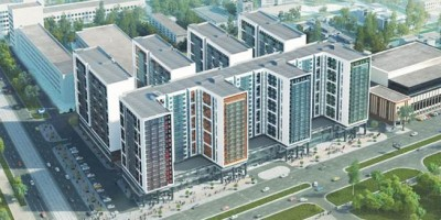 Жилой комплекс на углу Бухарестской и Салова
