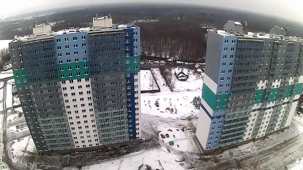 Жилые дома на улице Корнея Чуковского