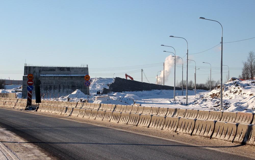 Красное Село, строительство Ивангородского проспекта