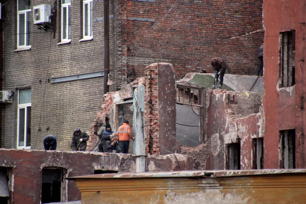 Кирилловская улица, 23, демонтаж