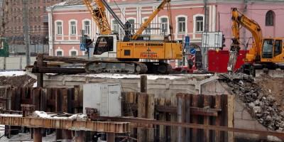 Мало-Петровский мост, демонтаж устоя
