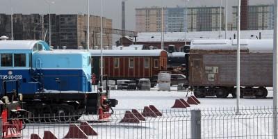 Музей ОЖД, локомотивы