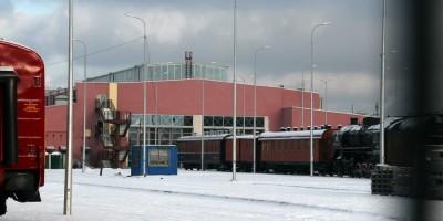 Музей ОЖД у Балтийского вокзала, корпус