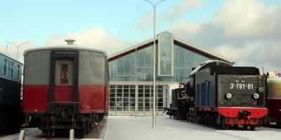 Музей ОЖД у Балтийского вокзала, новое здание