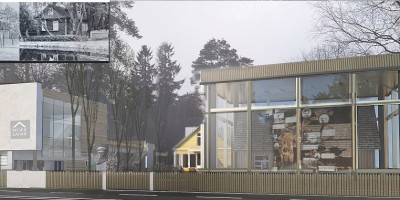 Проект нового здания вдоль улицы Емельянова