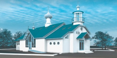 Проект Порт-Артурской церкви в Петебурге