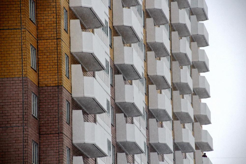 Проспект Королева, 69, балконы