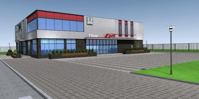 Эскизный проект станции в Пулковском