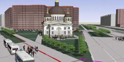 Сергиевская церковь на Савушкина