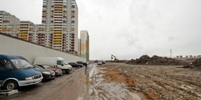 Шушары, строительство Вилеровского переулка
