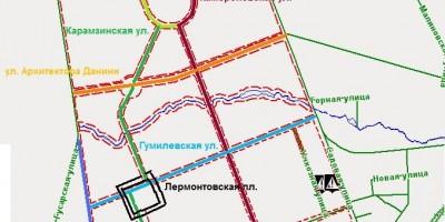 Улицы в Пушкине