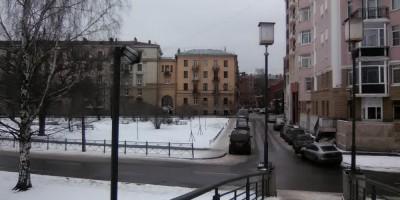 4-й Ждановский мост, сломан фонарь