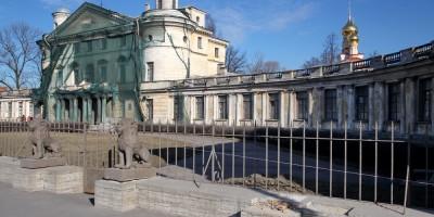 Дача Кушелевых-Безбородко, увезенный лев