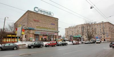 Кинотеатр Спутник на улице Бабушкина