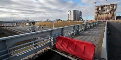 Намыв, дорога, мост над ЗСД