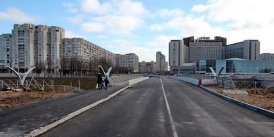 Намыв, дорога от площади Европы