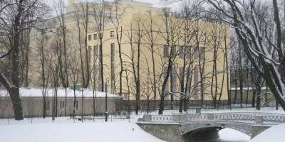 Новое здание в Михайловском саду, проект, третий вариант